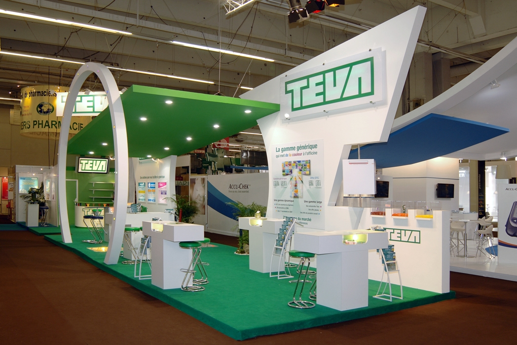 Stand teva salon pharmagora alter 39 native stands d for Salon stand