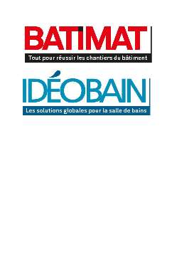 Salon Batimat IdeoBain 2017